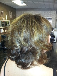 Casual Hair Style Back