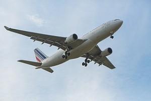 Plane on takeoff
